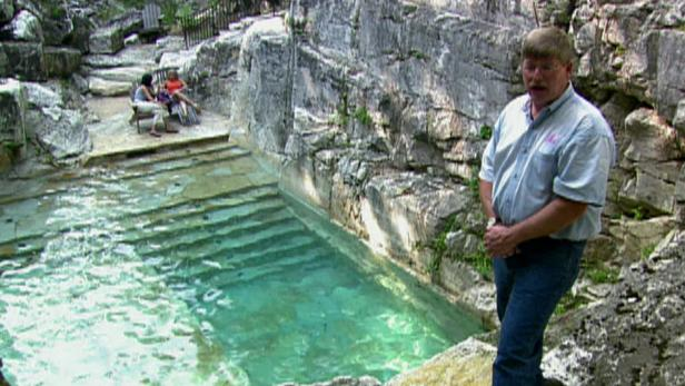 Million Dollar Backyard Quarry Swimming Pool Video Hgtv
