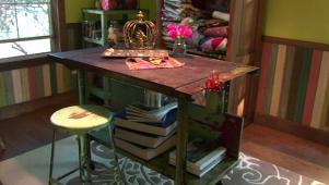 organized craft room ideas   hgtv