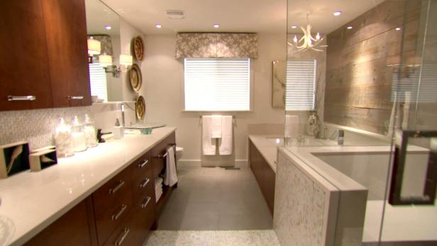 Planning A Bathroom Remodel Consider The Layout First: Newest Bathroom Makeovers By Candice Olson