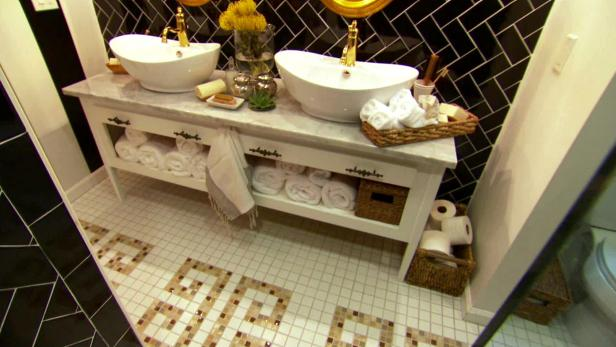 Bathroom Design Video small bathroom, big design video | hgtv