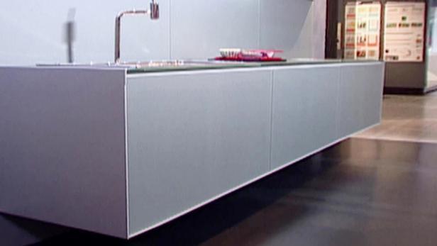 Floating Kitchen Cabinets 01:11 - Installing Kitchen Cabinets Video HGTV