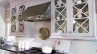 Dramatic Gray Designer Kitchen