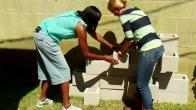 Build a Concrete Planter Wall