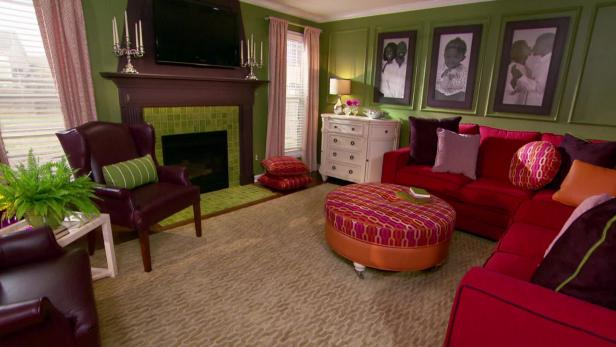 Family Room Makeover Video Hgtv