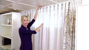 Window treatment guide hgtv for Basement window treatment ideas