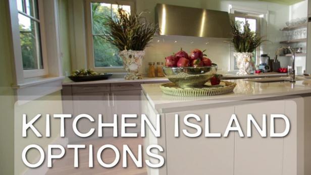 Unique kitchen island styles video hgtv - What is a kitchen island ...