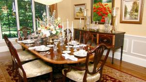 Stylish Formal Dining Room 0233