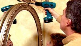Bathroom Makeovers Videos $100 bathroom makeover video | hgtv