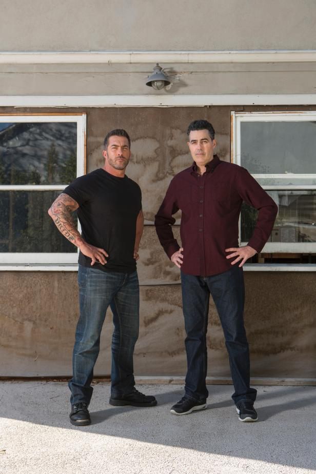 Skip Bedell and Adam Carolla, hosts of Catch a Contractor