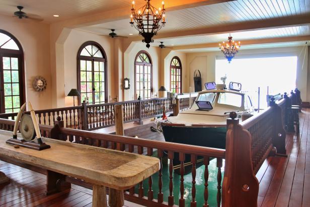 Tour An Amazing Bahamas Boat House Hgtv