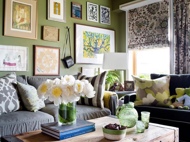 Cozy Eclectic Family Room Amazing Ideas