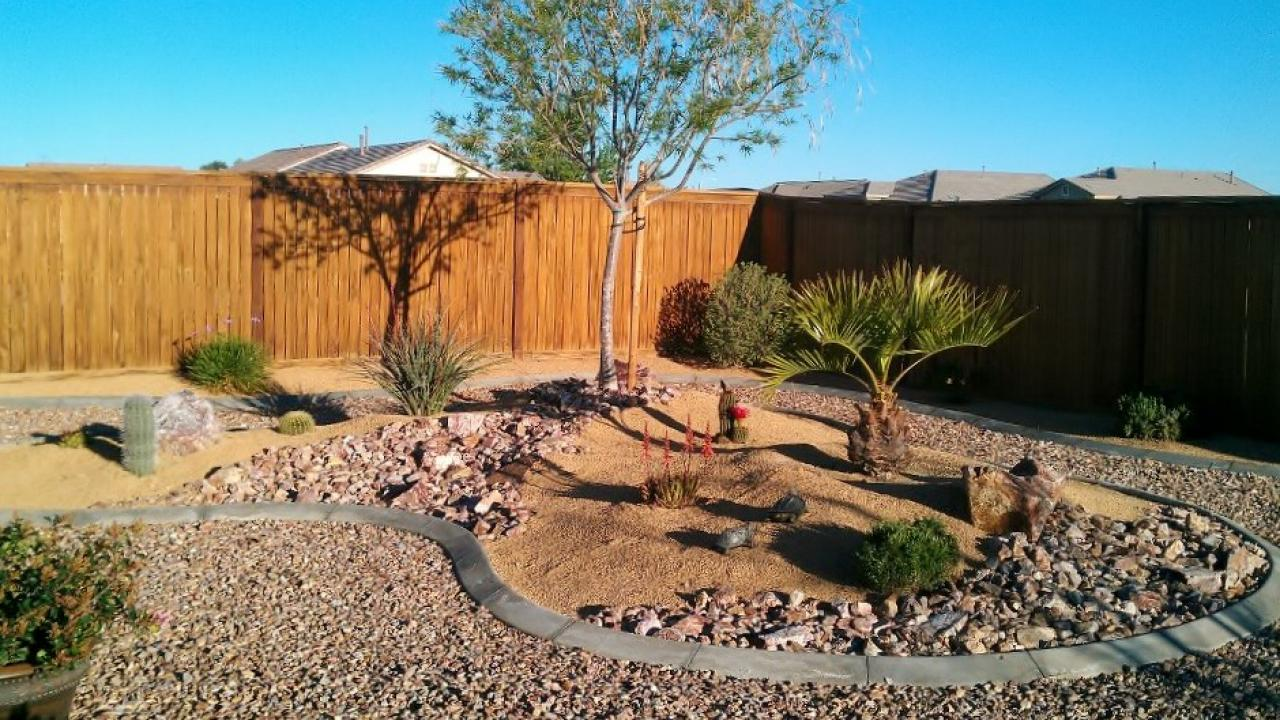Desert landscaping ideas hgtv for Desert landscape design