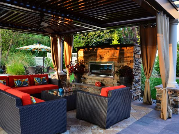 Gather info on outdoor fireplace costs