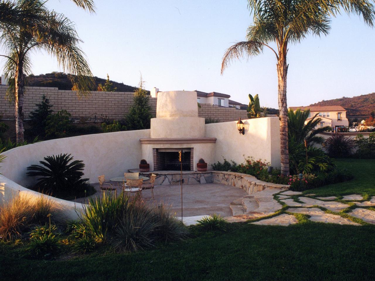 Awe Inspiring Backyard Fireplace Ideas Hgtv Interior Design Ideas Inesswwsoteloinfo