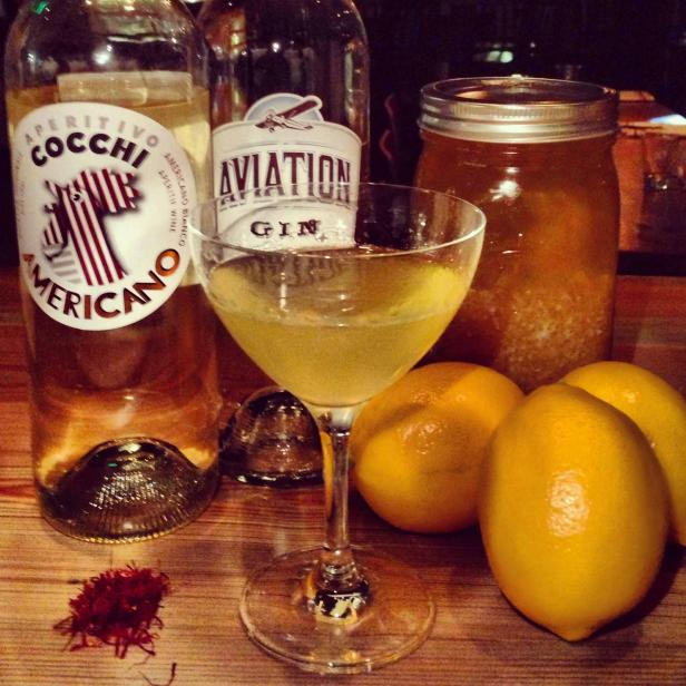 Cocktail With Garden-Fresh Meyer Lemons