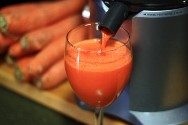 Carrot juice is tasty drink that packs a healthy punch.