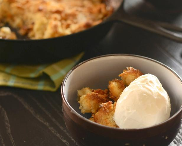 It is crisp and it certainly crumbles, but cobbler is in a class all its own.