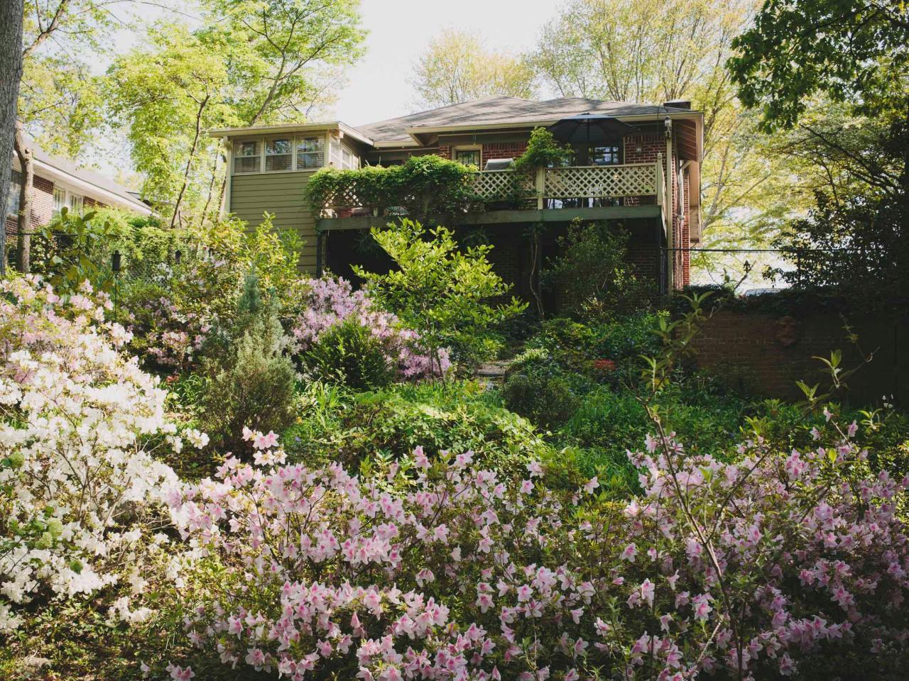 Hillside Landscaping Ideas | HGTV on Hill Backyard Ideas id=21873