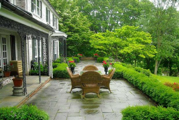 Country Garden Patio Design Ideas