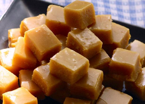 Pumpkin fudge recipe hgtv creamy pumpkin fudge forumfinder Image collections