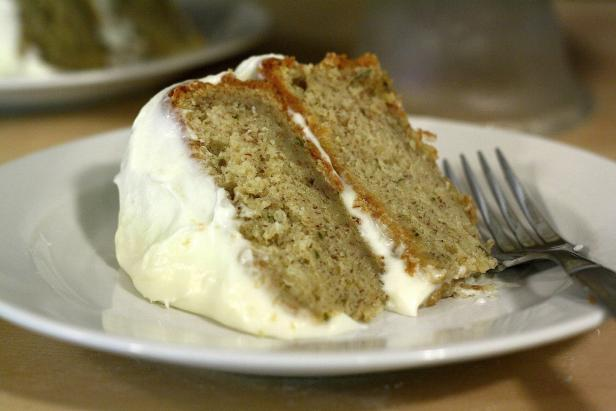 Fruit past its prime is put to delectable use in basil banana cake.