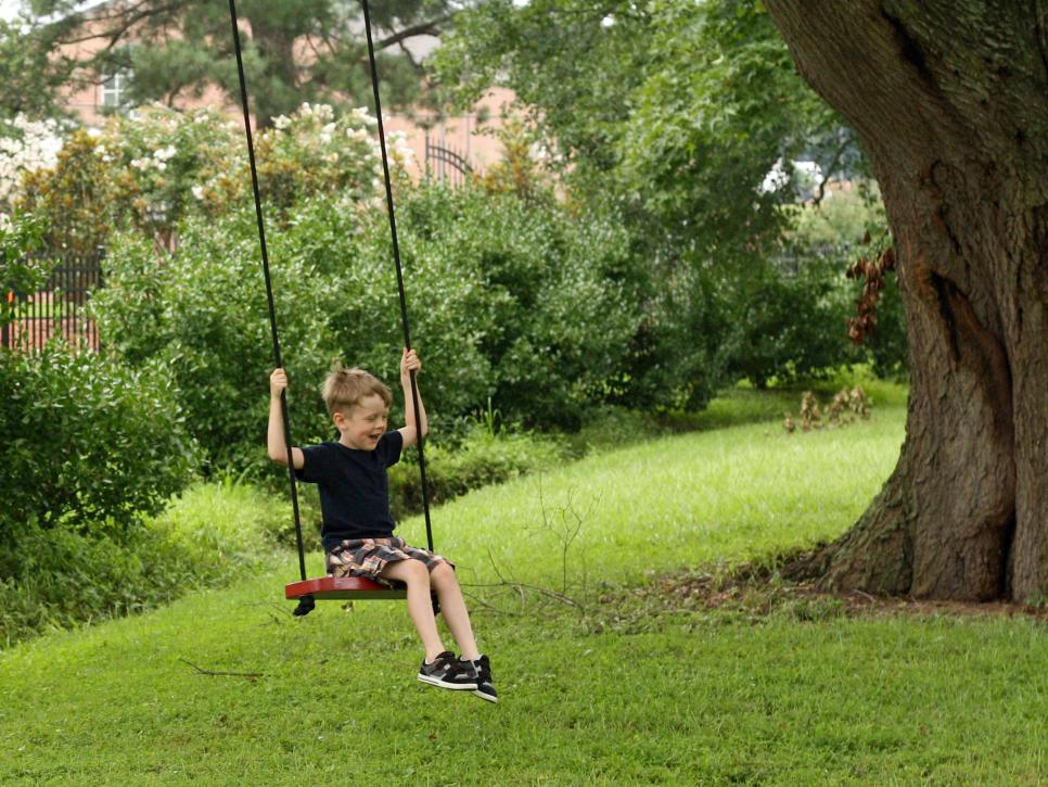 How To Make A Tree Swing Hgtv