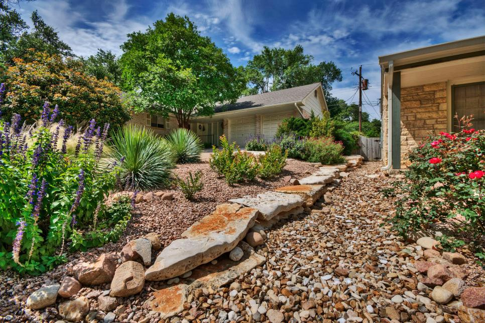 Xeriscape Design Ideas | HGTV on for front yard rock landscaping ideas, japanese back yard landscaping ideas, small backyard landscape ideas, inexpensive landscaping ideas, modern back yard landscaping ideas,