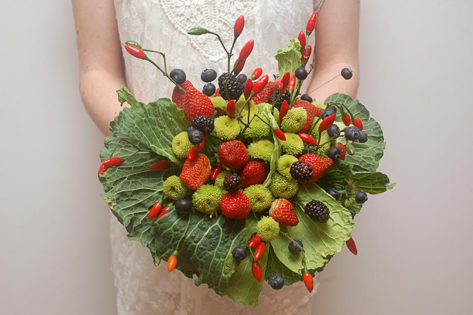 Create Fruit And Vegetable Bouquets Hgtv