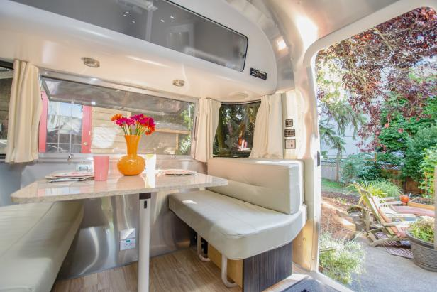 Decorating Ideas For Your Airstream Rv Trailer And More Hgtv S