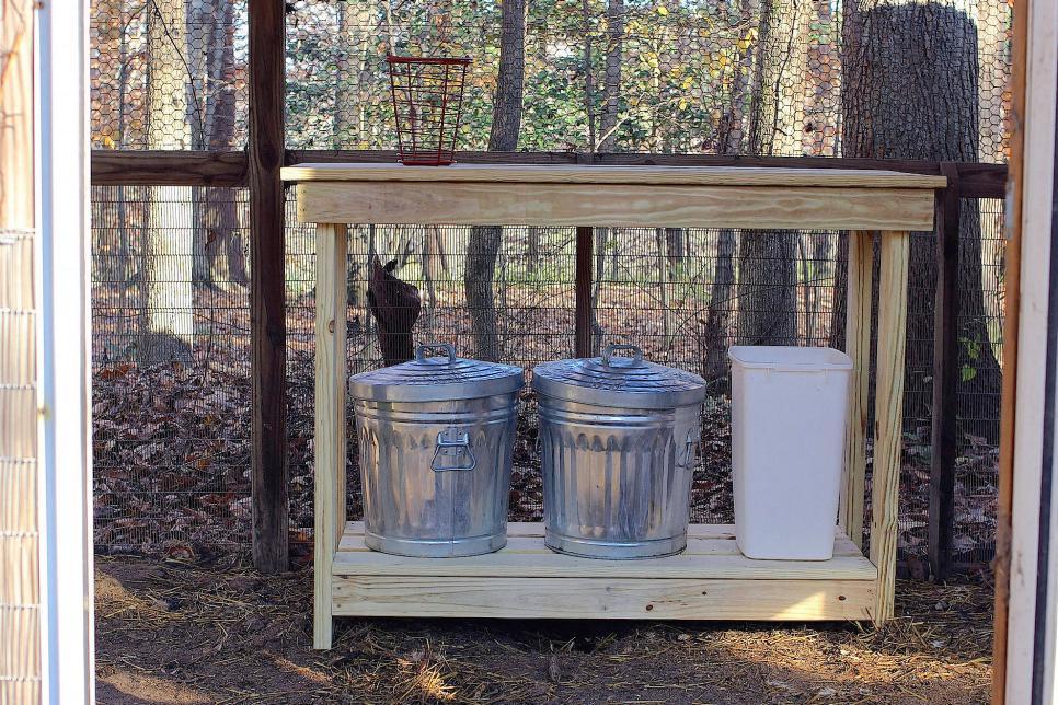 Chicken Coop Storage Bins Listitdallas
