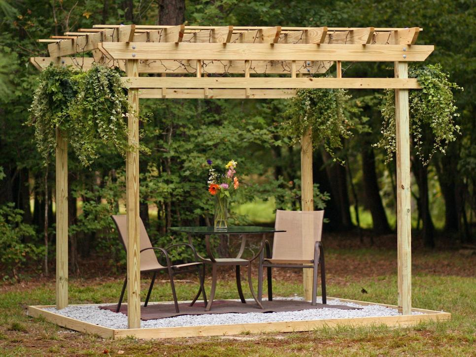 How To Build A Pergola Hgtv