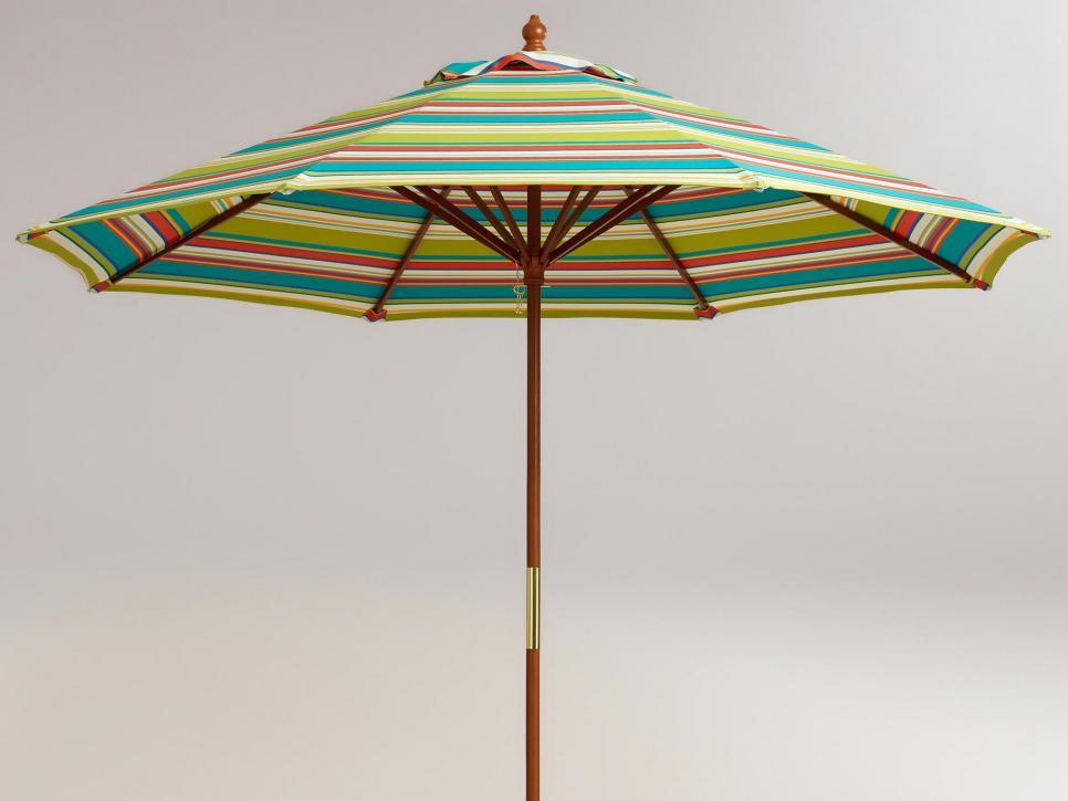Colorful Outdoor Umbrellas Hgtv
