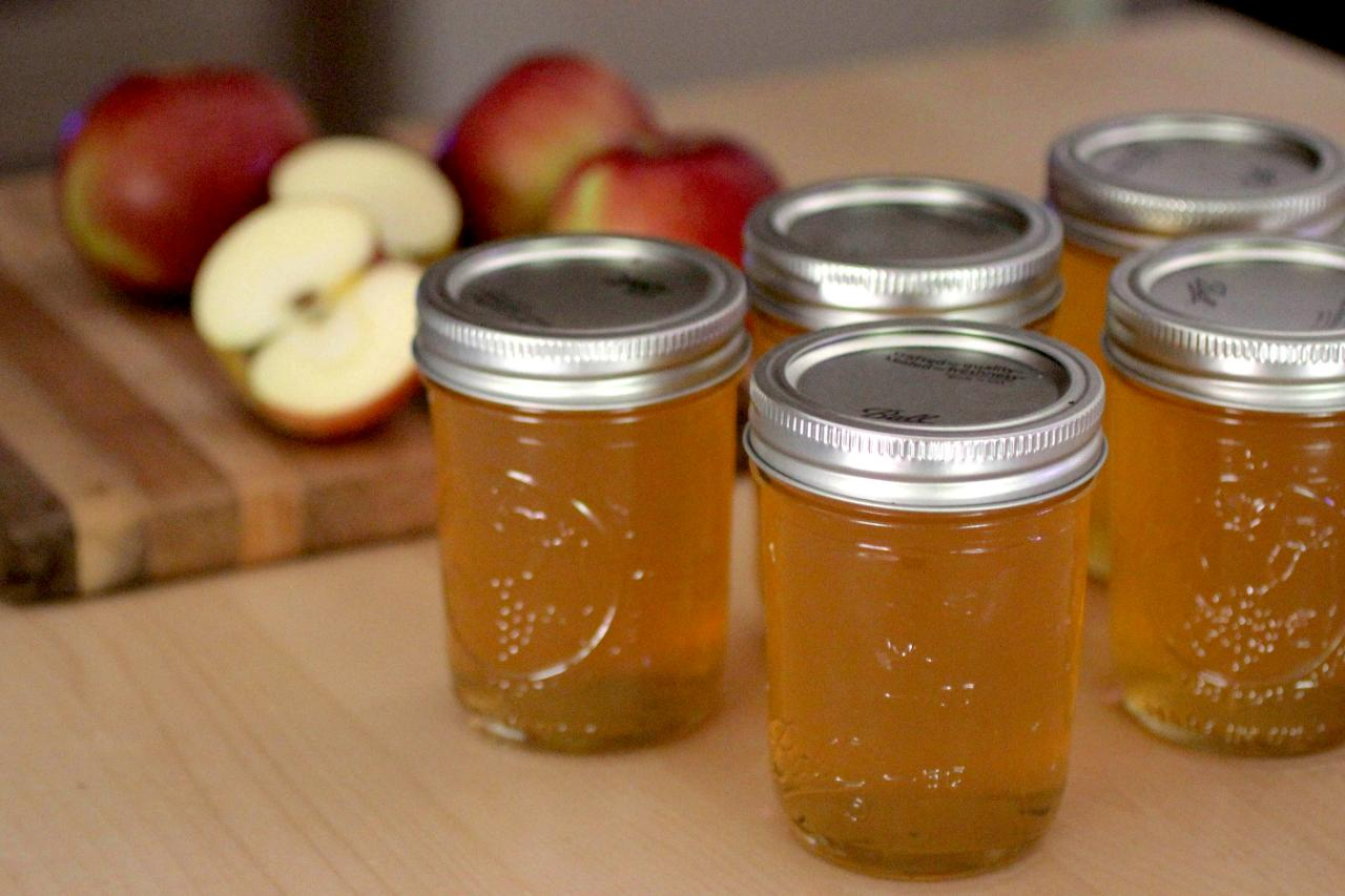 How to cook apple jam Simple recipe 100