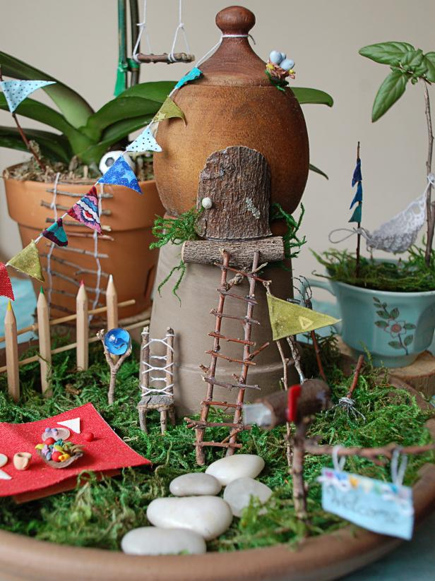 Diy Indoor Fairy Garden Hgtv