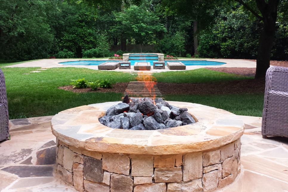 15 Sensational Stone Fire Pits