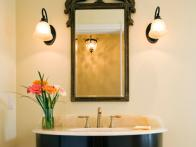 Redecorating a Powder Room on a Budget