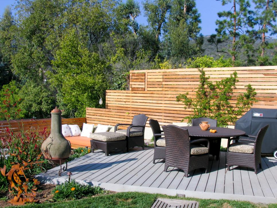 Deck Design Ideas HGTV Mesmerizing Backyard Deck Designs Plans Ideas