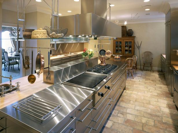 Stainless Steel High End Appliances in a Kitchen