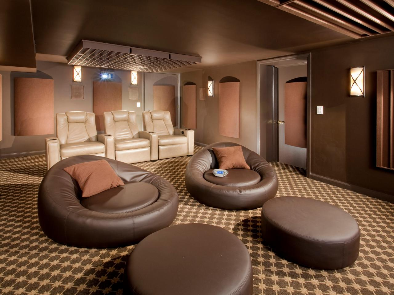 trends in home theater seating hgtv