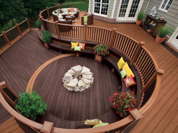 Decks patios getting started hgtv for Things to consider when building a deck