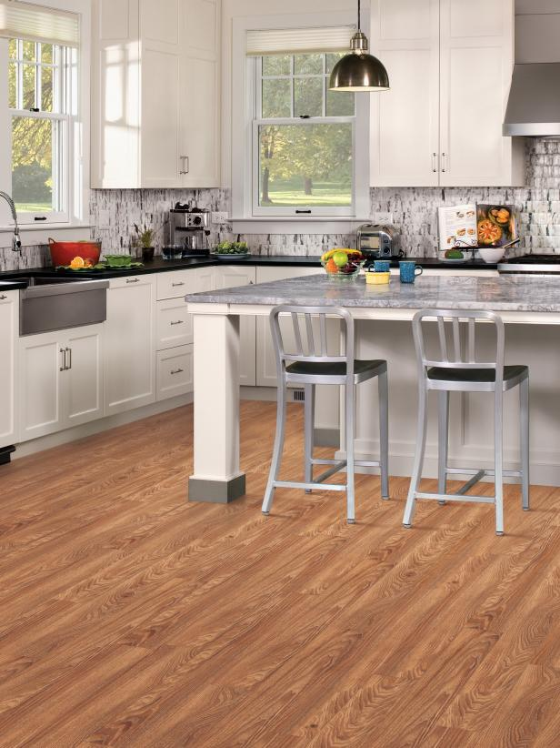 Vinyl Flooring In The Kitchen HGTV - Vinyl floorings