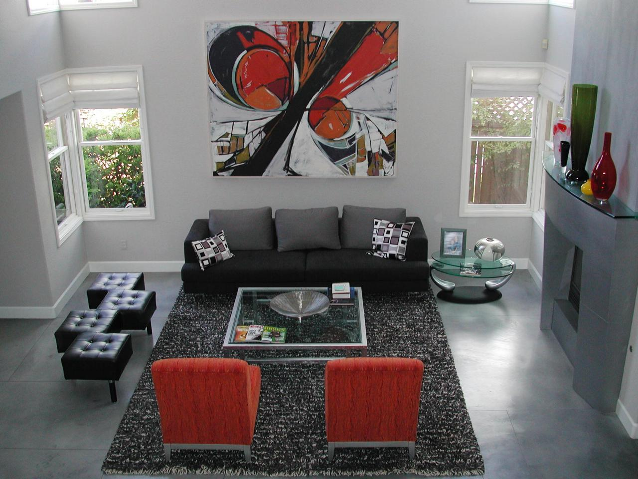 Living Room Flooring Ideas Pictures. Concrete Floors Top Living Room Flooring Options  HGTV
