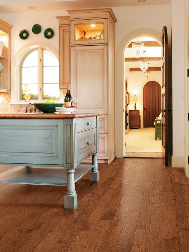 Laminate flooring in the kitchen hgtv - Laminate or wood flooring ...