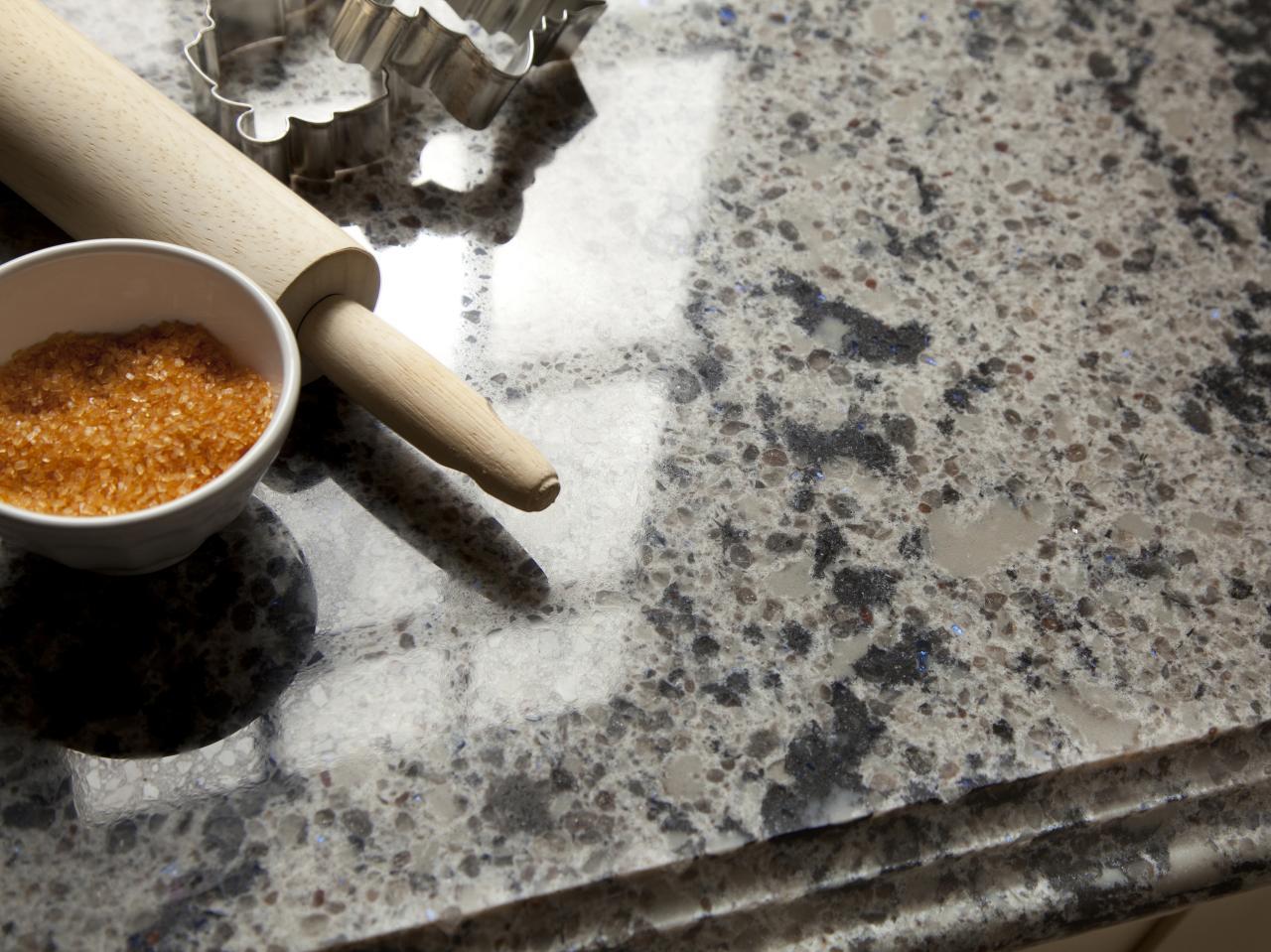 Quartz kitchen countertops pictures ideas from hgtv hgtv for Engineered quartz countertop colors