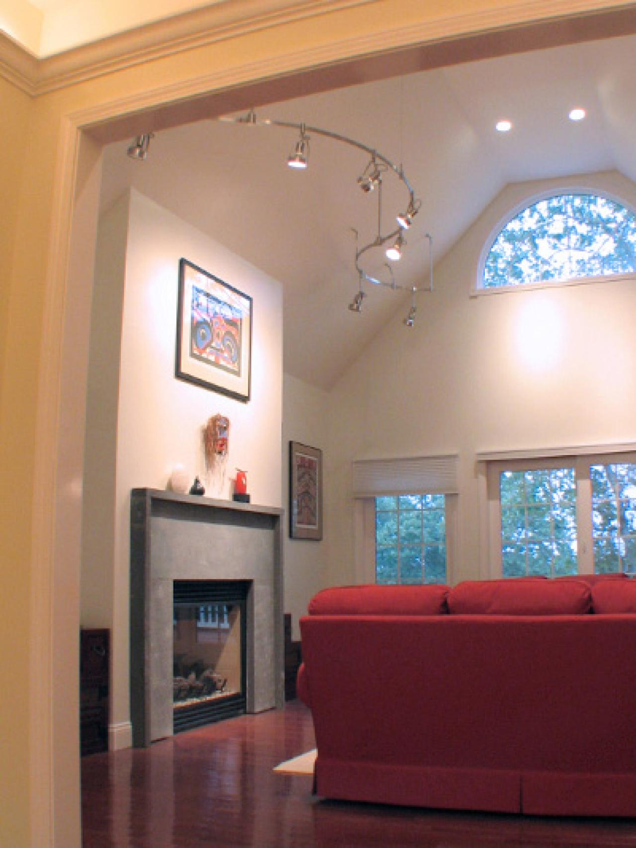 Lighting For Cathedral Ceilings In Living Room