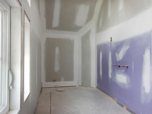 Drywall Gypsum Walls : Mold resistant drywall hgtv