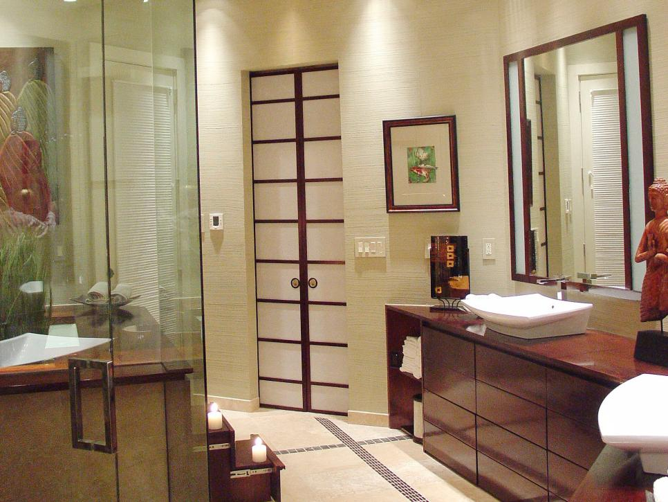 Asian style bathroom ideas