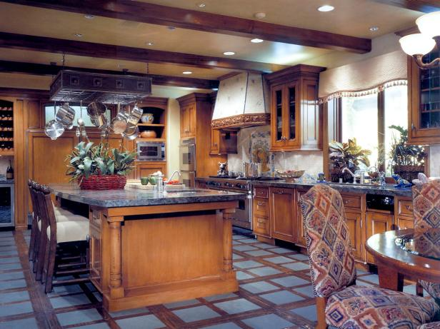 Old World Kitchen Design by Suzanne Furst : flooring-ideas-for-kitchens - designwebi.com