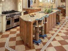 Cheap Versus Steep: Kitchen Flooring 6 Photos & Kitchen Flooring Ideas \u0026 Pictures | HGTV