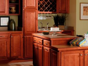 Quality Cabinets Harborview Birch Cinnamon